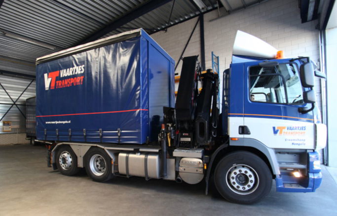 Truck / Verkorte laadbak & Autolaadkraan