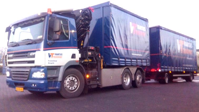 Truck / Wisselbak / Aanhanger / Autolaadkraan