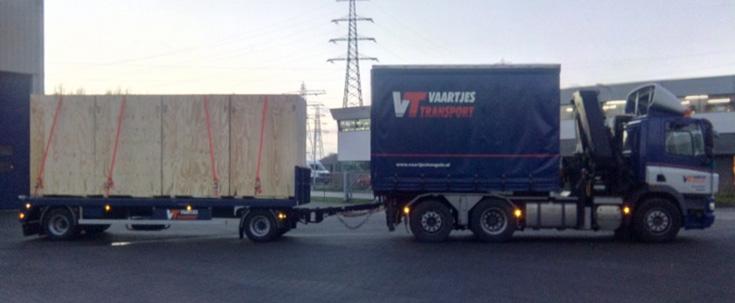 Truck / Wisselbak / Open aanhanger / Autolaadkraan