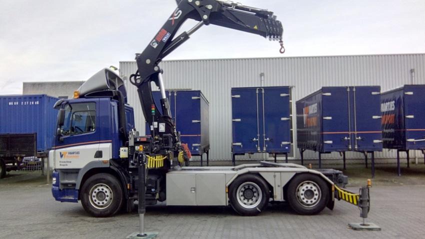 Truck / Autolaadkraan / Modulair systeem / tot 40 ton